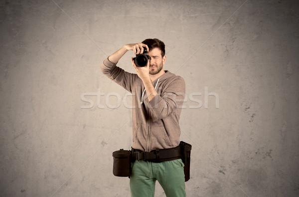 趣味 カメラマン カメラ プロ 男性 ストックフォト © ra2studio