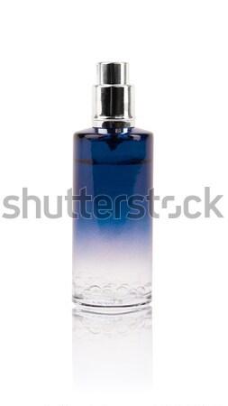 Parfüm güzel şişe yalıtılmış hediye kadın Stok fotoğraf © ra2studio