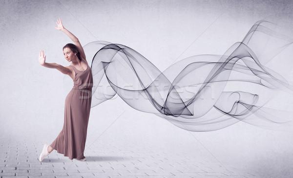 現代 バレエダンサー 抽象的な 渦 ボディ ストックフォト © ra2studio