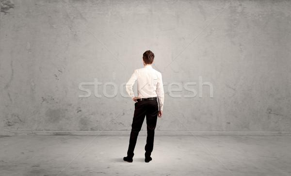 ストックフォト: ビジネスマン · 失わ · 空っぽ · 都市 · スペース · 混乱