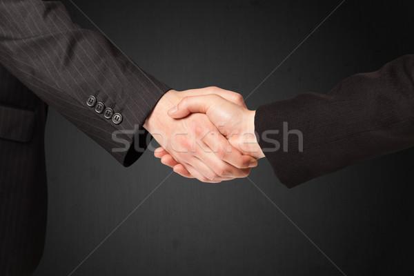 Business handshake Stock photo © ra2studio