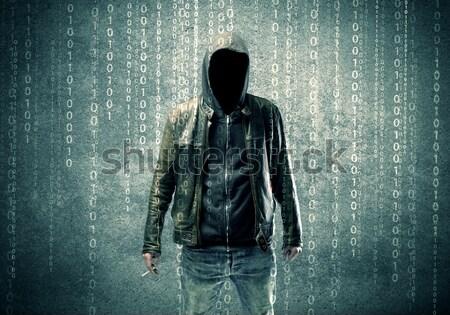 Arrabbiato misterioso numeri adulto online Foto d'archivio © ra2studio