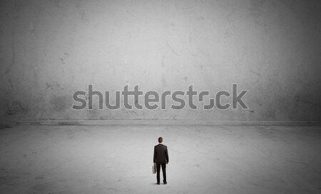 Stock fotó: Kisvállalkozás · személy · nagy · üres · hely · pici · elegáns
