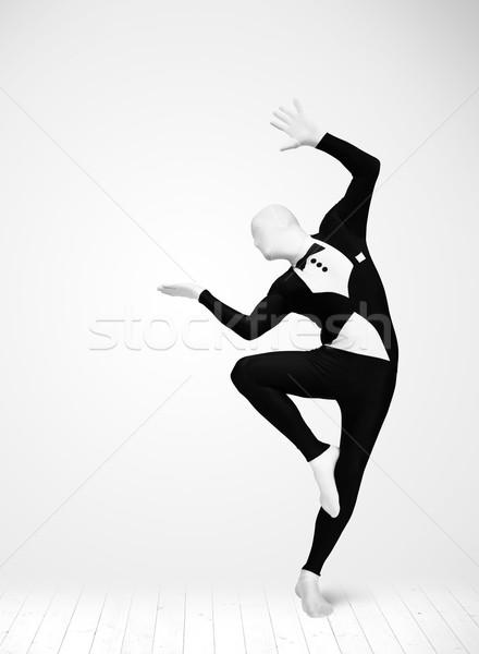 анонимный человека продукт костюм Сток-фото © ra2studio