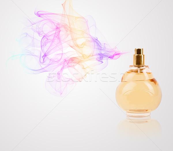 духи бутылку аромат красочный стекла Сток-фото © ra2studio