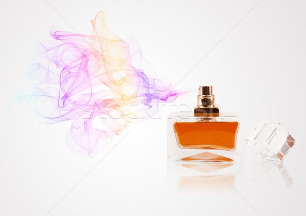 Parfüm üveg színes illat színes üveg Stock fotó © ra2studio