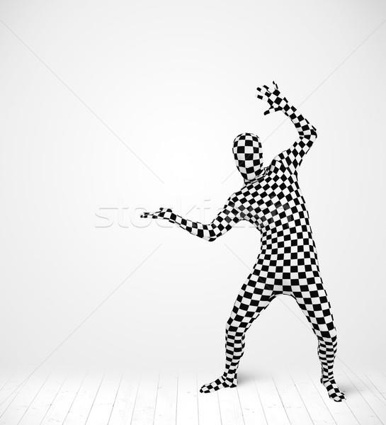Anonimowy człowiek produktu garnitur Zdjęcia stock © ra2studio