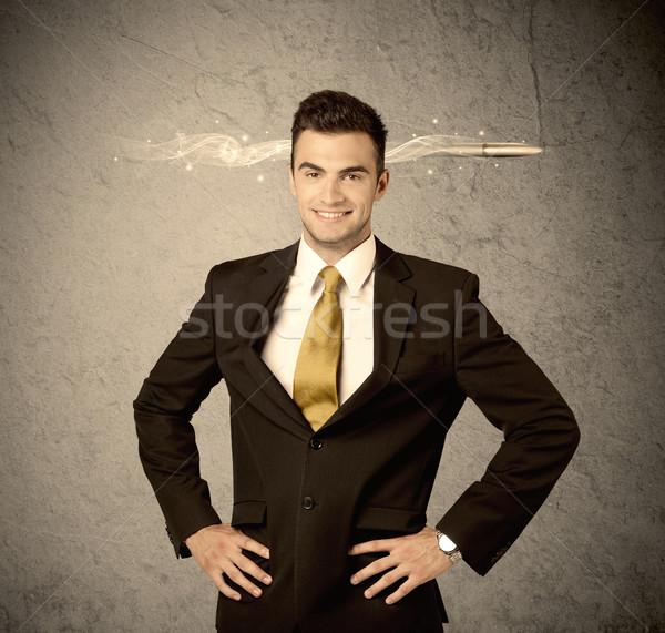 Rápido creativa ventas tipo fumar bala Foto stock © ra2studio