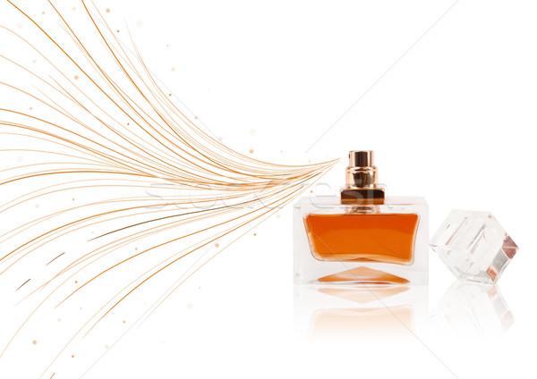 Zdjęcia stock: Perfum · butelki · kolorowy · linie · kolorowy · dar