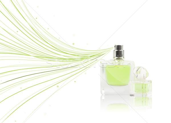 духи бутылку красочный линия подарок Сток-фото © ra2studio