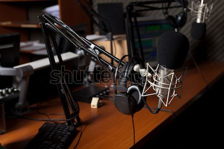 radio station Stock photo © ra2studio