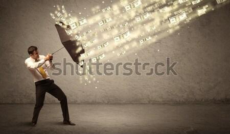 Komik hatları deli Stok fotoğraf © ra2studio