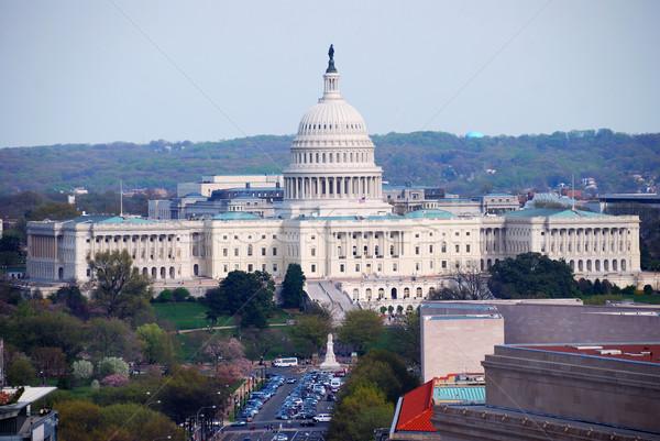 capitol hill building aerial view, Washington DC Stock photo © rabbit75_sto