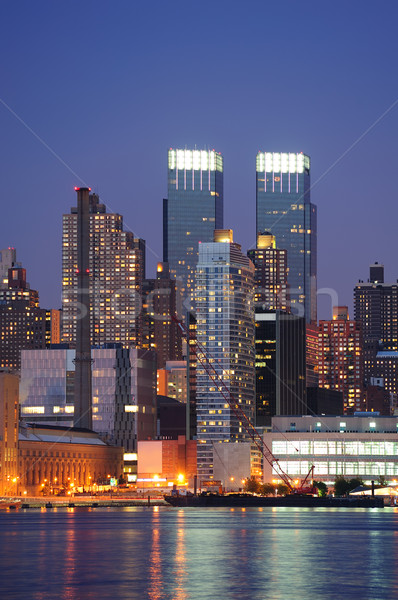 Urban modern architecture in New York City Stock photo © rabbit75_sto