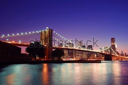 Brooklyn Bridge Stock photo © rabbit75_sto