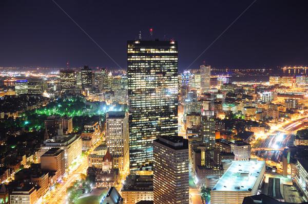 Boston at night Stock photo © rabbit75_sto