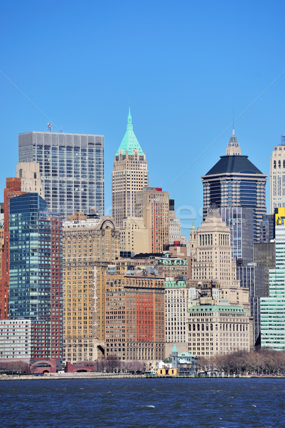 Skyscrapers of New York City Manhattan Stock photo © rabbit75_sto