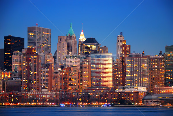 Hudson River, New York City Stock photo © rabbit75_sto