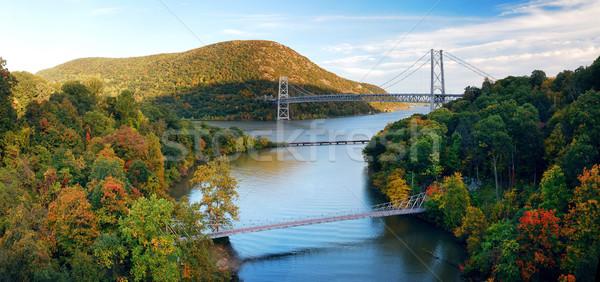 Hudson River valley panorama  Stock photo © rabbit75_sto