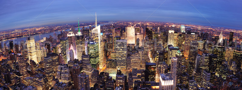 New York City Manhattan Times Square night Stock photo © rabbit75_sto
