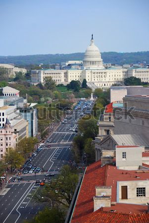 Washington DC colina edifício rua casa Foto stock © rabbit75_sto