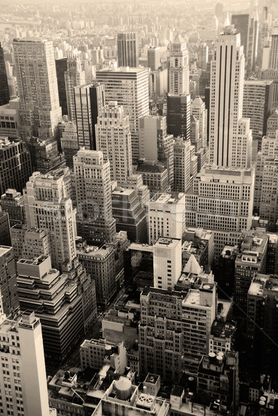 Urban skyscrapers, New York City Stock photo © rabbit75_sto