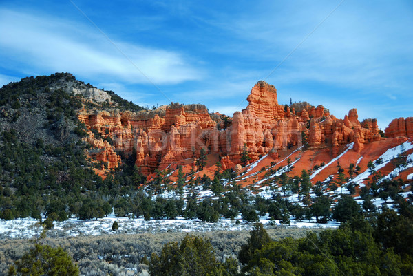 Red rocks in Bryce Canyon National Park Stock photo © rabbit75_sto