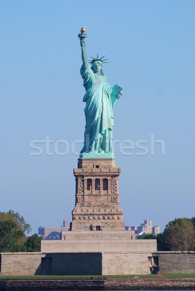 Stock fotó: New · York · szobor · hörcsög · közelkép · amerikai · tájékozódási · pont