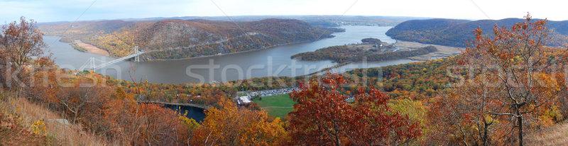 Tenha montanha outono panorama colorido Foto stock © rabbit75_sto