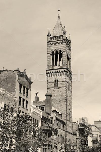 Boston oude zuiden kerk straat Stockfoto © rabbit75_sto