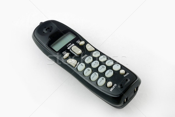 cordless phone closeup Stock photo © rabbit75_sto