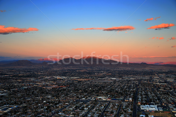 Las Vegas sunset Stock photo © rabbit75_sto