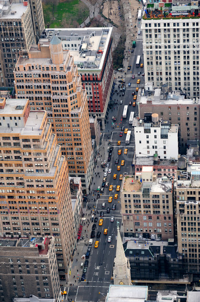 New York City Manhattan street aerial view  Stock photo © rabbit75_sto