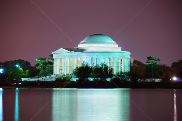 Washington DC luz viajar noite Foto stock © rabbit75_sto