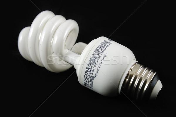 флуоресцентный лампа черный выстрел свет Сток-фото © rabbit75_sto