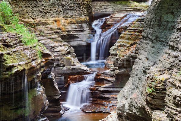 Watkins Glen waterfall Stock photo © rabbit75_sto