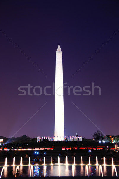 Kite and George Washington Monument.  Stock photo © rabbit75_sto