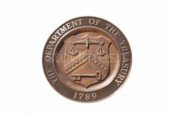 United States Treasury Department logo Stock photo © rabbit75_sto