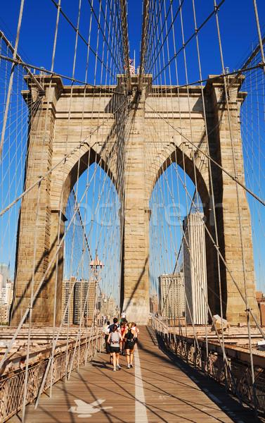 New York City Brooklyn Bridge Stock photo © rabbit75_sto