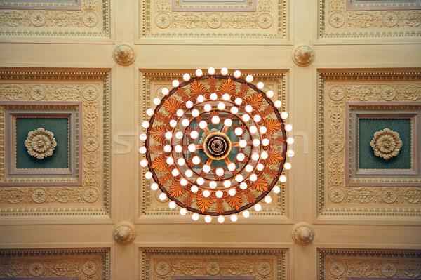 Бостон общественного библиотека город интерьер красивой Сток-фото © rabbit75_sto