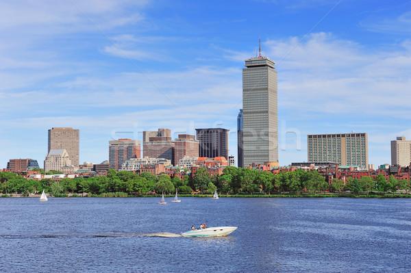 Boston skyline rivier toren stedelijke Stockfoto © rabbit75_sto