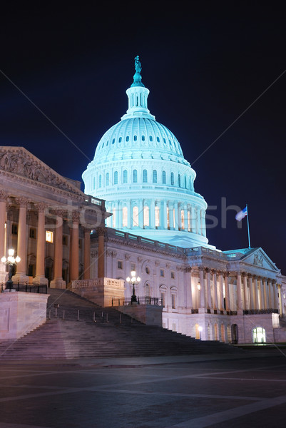 Capitol Hill Building closeup, Washington DC Stock photo © rabbit75_sto