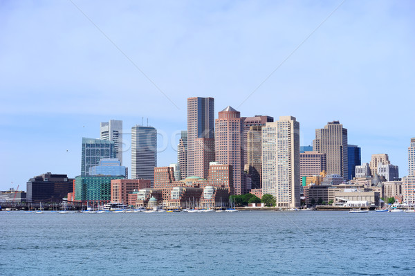 Boston architecture bord de l'eau vue urbaine Photo stock © rabbit75_sto