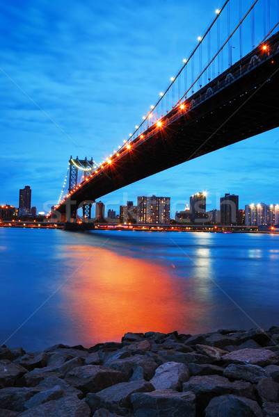 New York City Manhattan bridge  Stock photo © rabbit75_sto