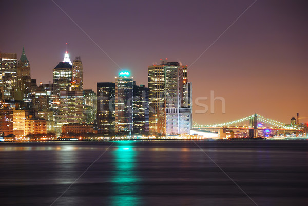 Manhattan and Hudson River, New York City  Stock photo © rabbit75_sto