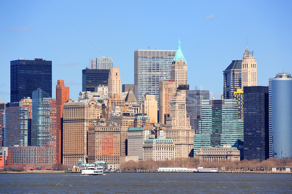 New York City Manhattan downtown Stock photo © rabbit75_sto