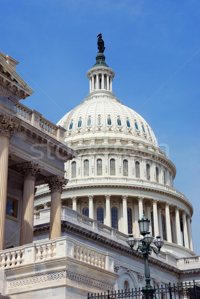 US Capitol closeup, Washington DC. Stock photo © rabbit75_sto