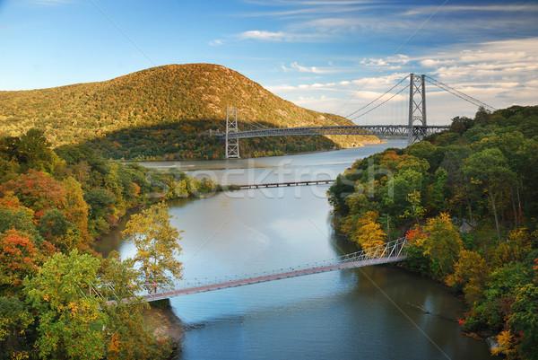 Hudson River valley in Autumn Stock photo © rabbit75_sto