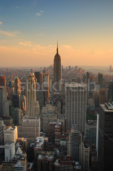 Empire State Building in New York City Manhattan Stock photo © rabbit75_sto