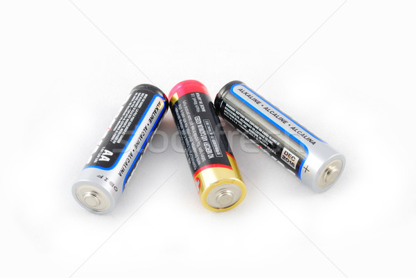 a group of aa batteries Stock photo © rabbit75_sto